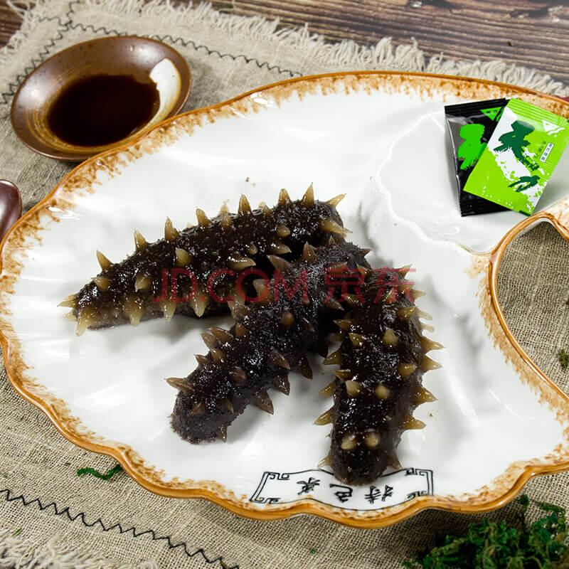 鲜海淘大连淡干野生海参辽刺参生鲜干货实惠装 25克3~5只简装